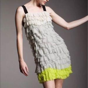 Diane Von Furstenberg Gianna Tiered Ruffle Dress